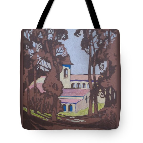 Mission 1 Tote Bag by Barbara Prestridge
