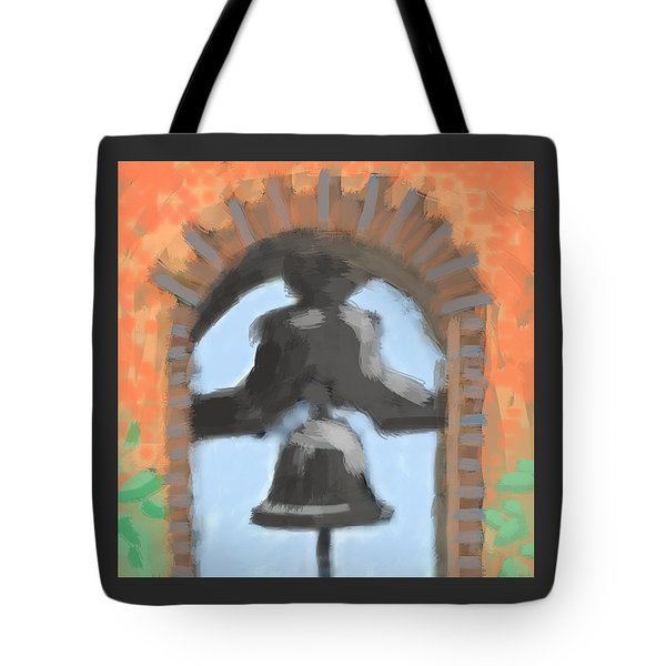 Mission Bell Tote Bag