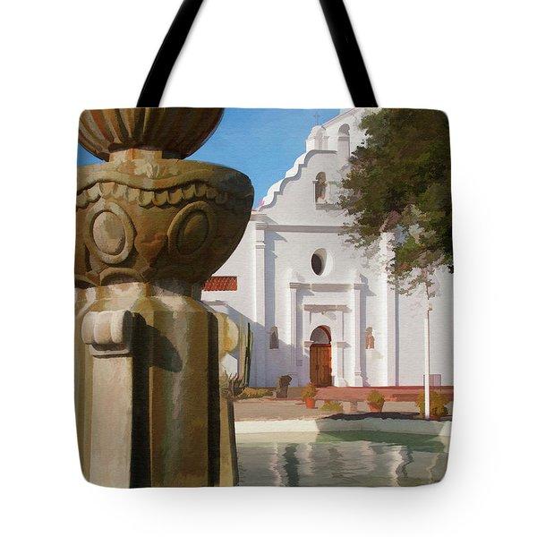 Mission Santa Cruz Tote Bag