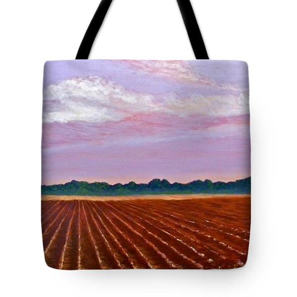 Mississippi Land And Sky Tote Bag
