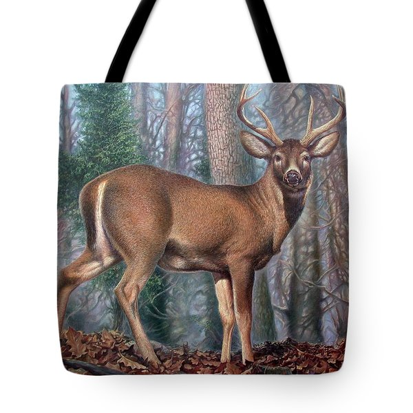 Missouri Whitetail Deer Tote Bag
