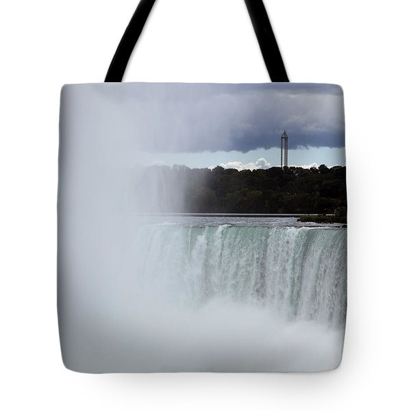 Misty Tote Bag by Amanda Barcon