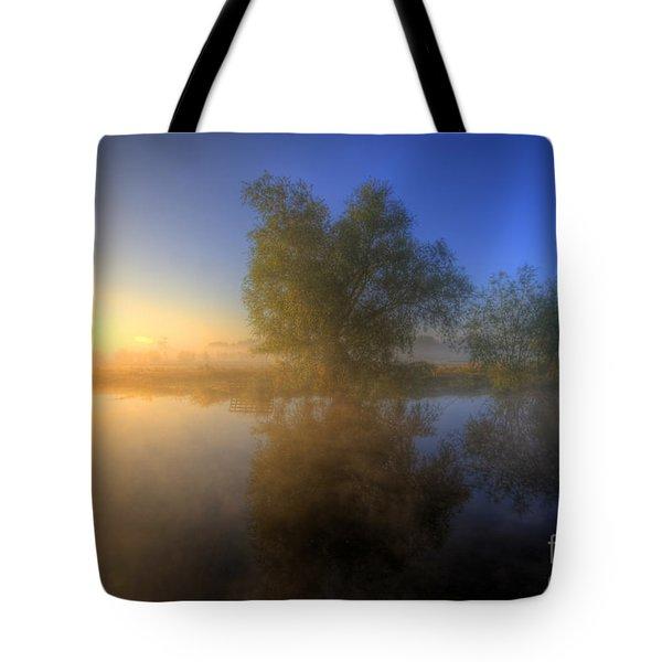 Misty Dawn 1.0 Tote Bag by Yhun Suarez