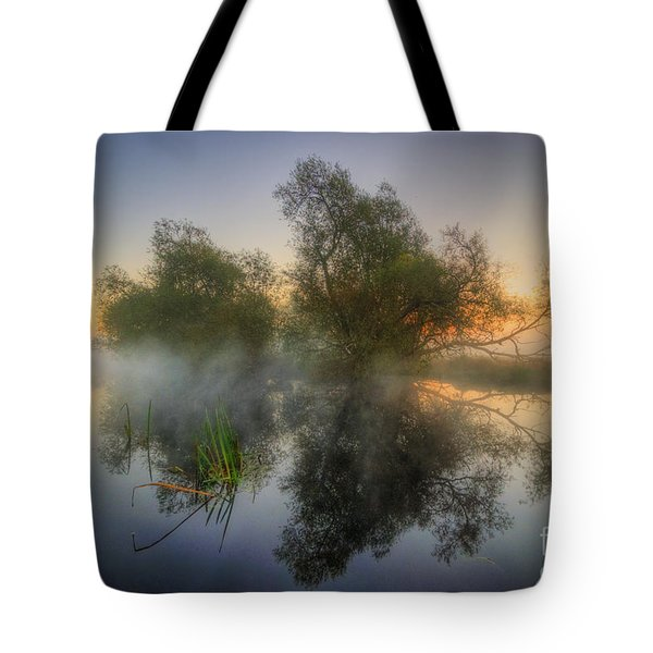 Misty Dawn 2.0 Tote Bag by Yhun Suarez