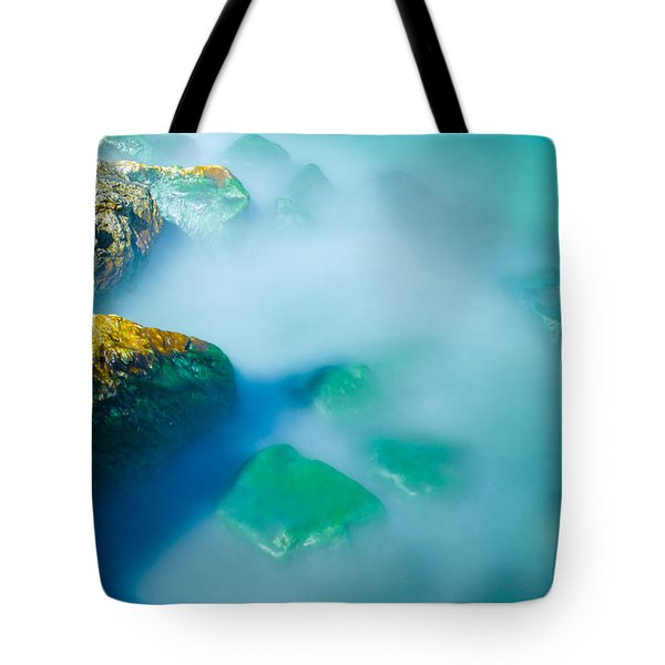 Misty Water Tote Bag