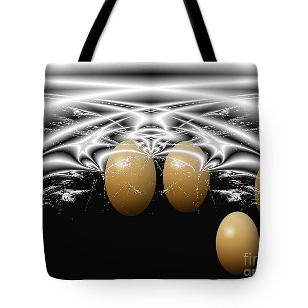 Birth Of Quadruplets, From The Serie Mystica Tote Bag