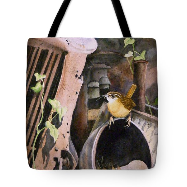 Mobile Home  Sold Prints Available Tote Bag