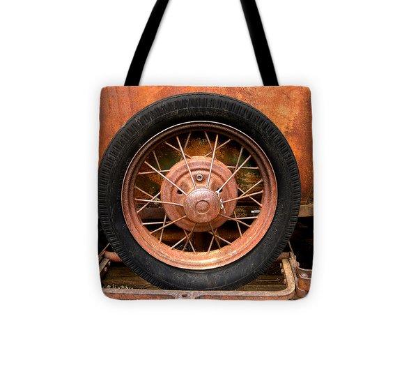 Model A  Oklahoma Spare Tote Bag by Ann Powell