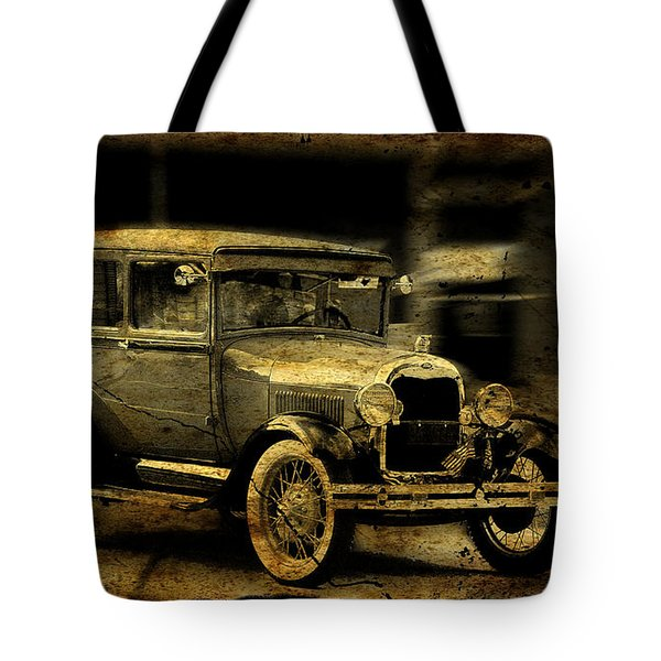 Model T No. 3 Tote Bag by Janice Adomeit