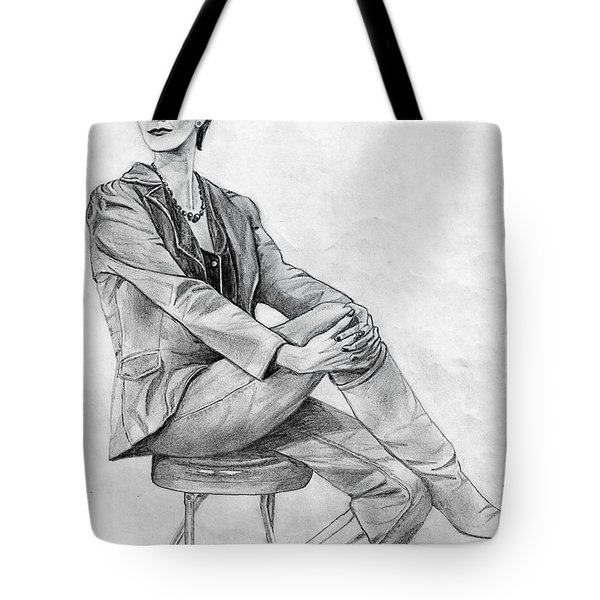Model Tote Bag by Wendy McKennon
