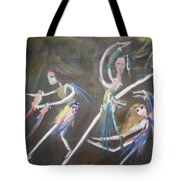 Modern Ballet Tote Bag by Judith Desrosiers