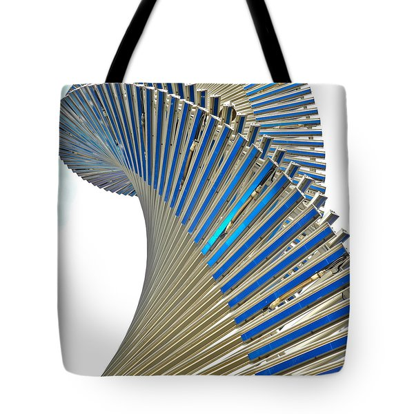 Modern Twist Sculpture Tote Bag by Kirsten Giving