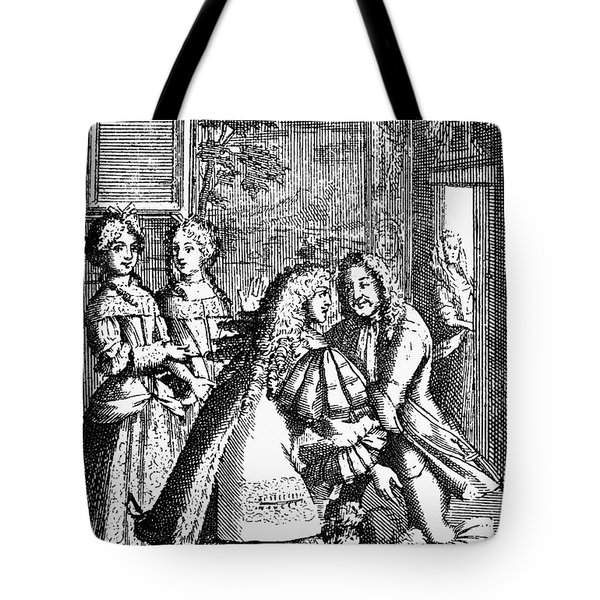 Moliere: Pr�cieuses, 1682 Tote Bag by Granger