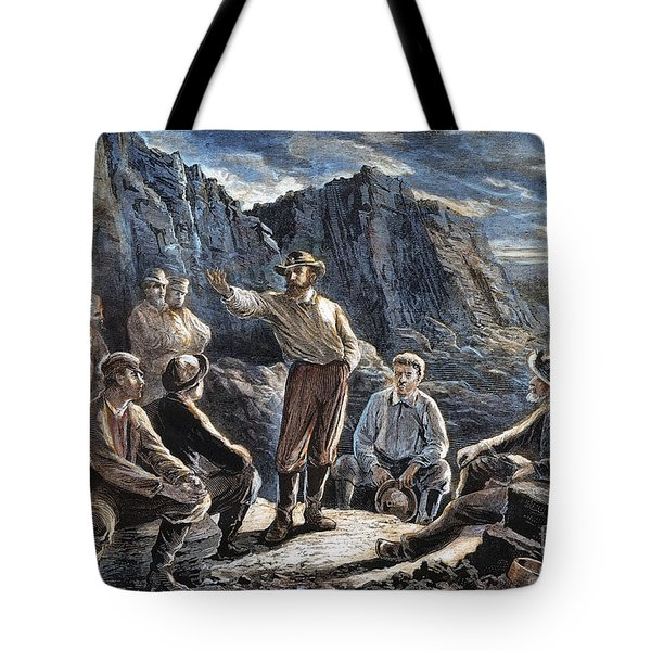 Molly Maguires, 1874 Tote Bag by Granger