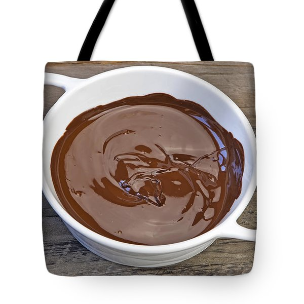 Molten Chocolate Tote Bag by Joana Kruse