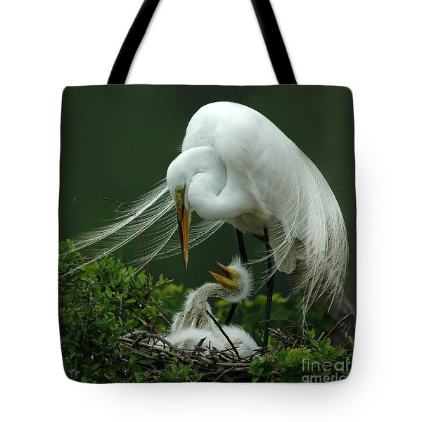 Mom And Me Tote Bag