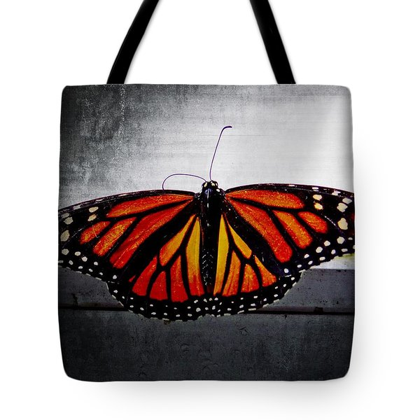 Tote Bag featuring the photograph Monarch by Julia Wilcox