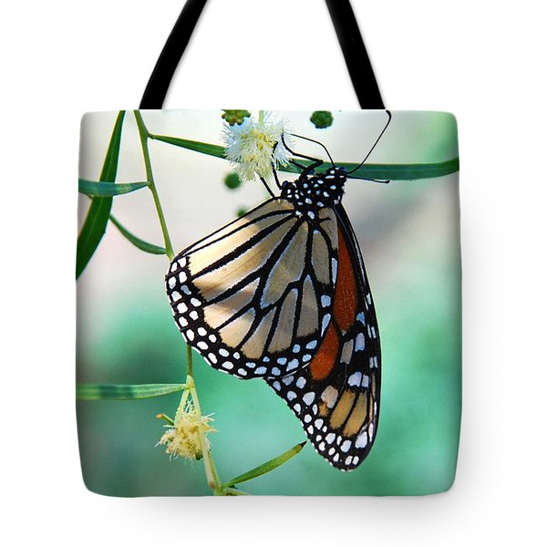 Tote Bag featuring the photograph Monarch by Tam Ryan