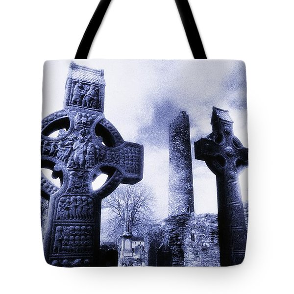 Monasterboice, Co Louth, Ireland Tote Bag by The Irish Image Collection