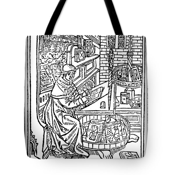 Monk: Scribe, 1488-89 Tote Bag by Granger