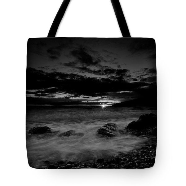 Monochrome Sunset  Tote Bag