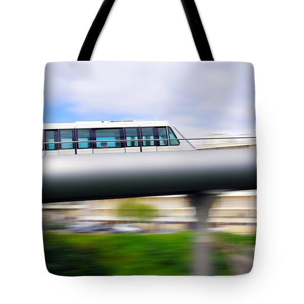 Monorail Carriage Tote Bag