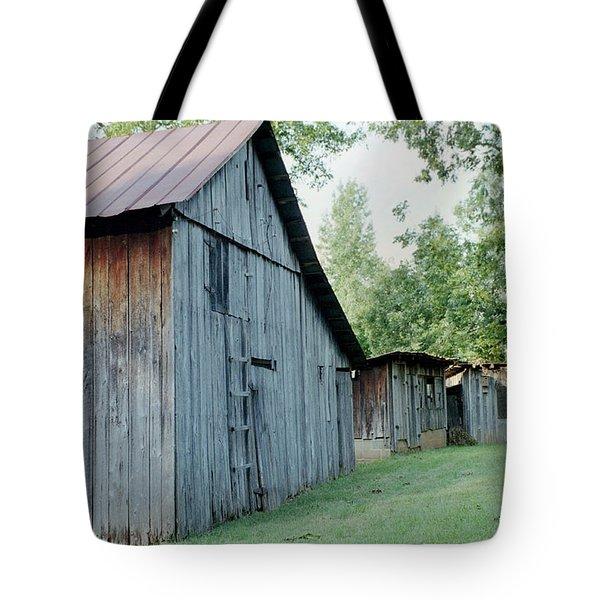 Monroe Barns Tote Bag