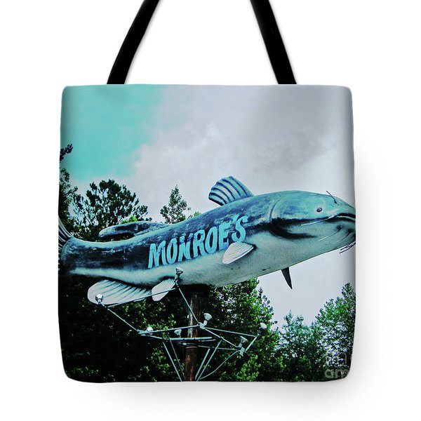 Monroe's Catfish  Tote Bag by Lizi Beard-Ward