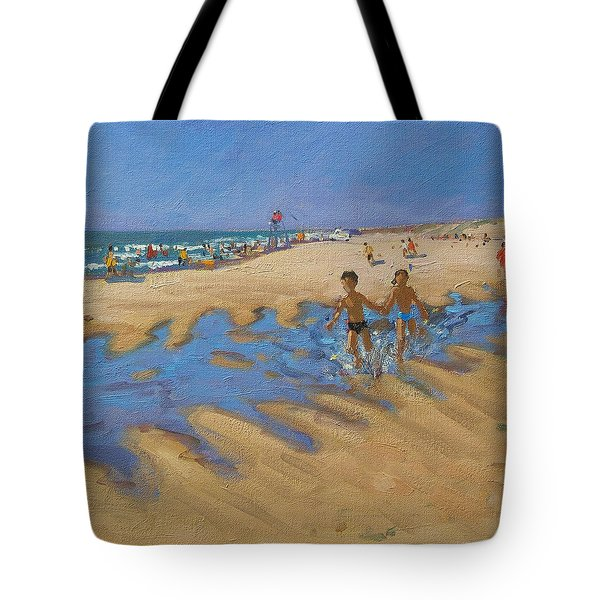 Montalivet France Tote Bag by Andrew Macara