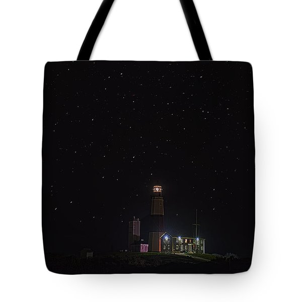 Montauk Starry Night Tote Bag by William Jobes