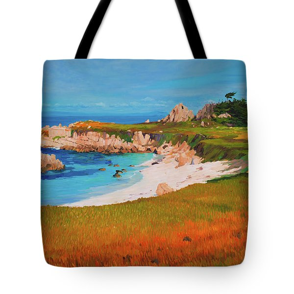 Monterey Peninsula Tote Bag