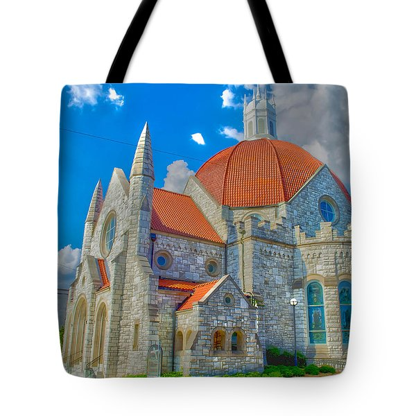 Montgomery Baptist Church Hdr Tote Bag