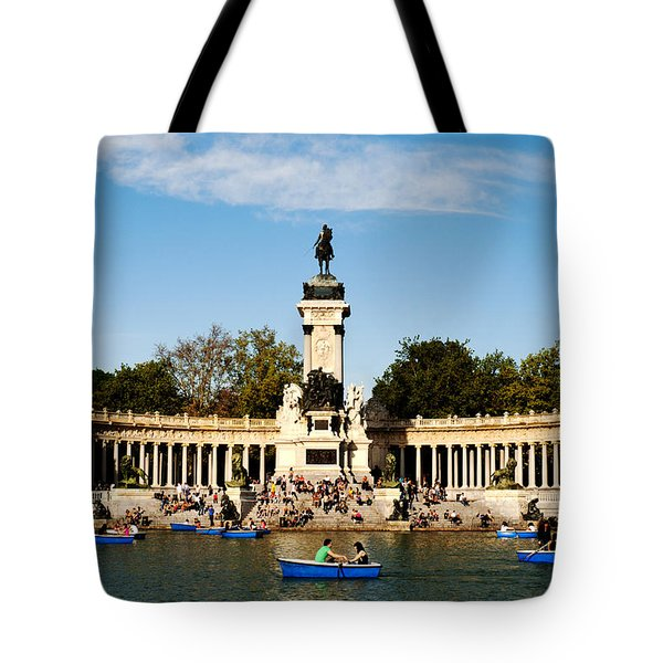 Monument To Alfonso Xii Tote Bag