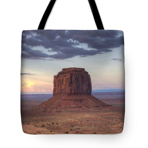 Monument Valley - Merrick Butte Tote Bag by Saija  Lehtonen