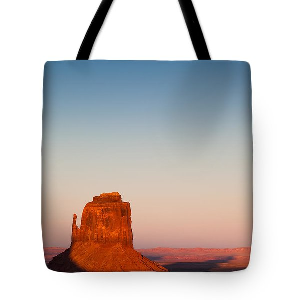 Monument Valley Sunset Tote Bag by Dave Bowman