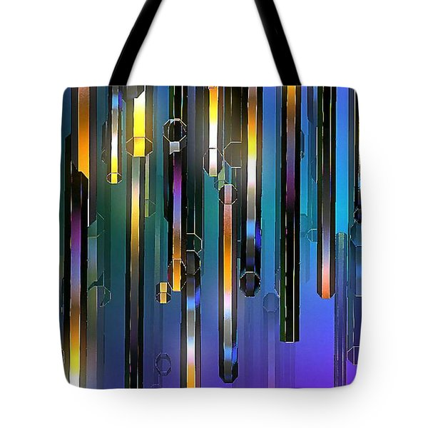 Tote Bag featuring the digital art Mood Lighting by Greg Moores