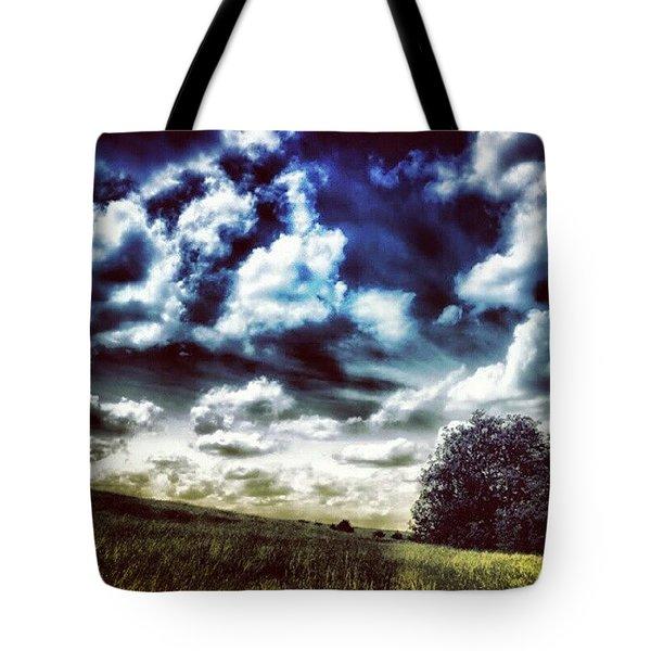 Moody Hill Tote Bag