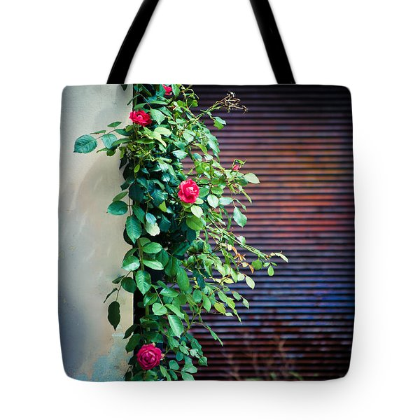 Moody Roses Tote Bag by Silvia Ganora