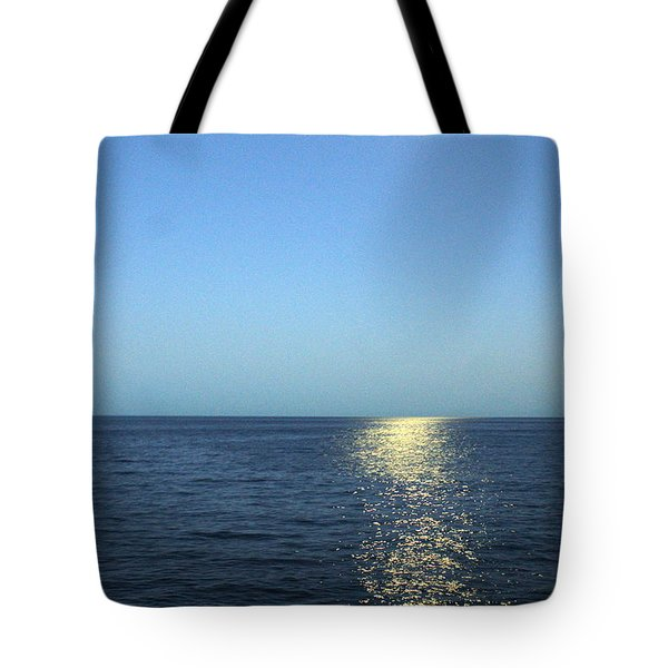 Moon And Water Tote Bag
