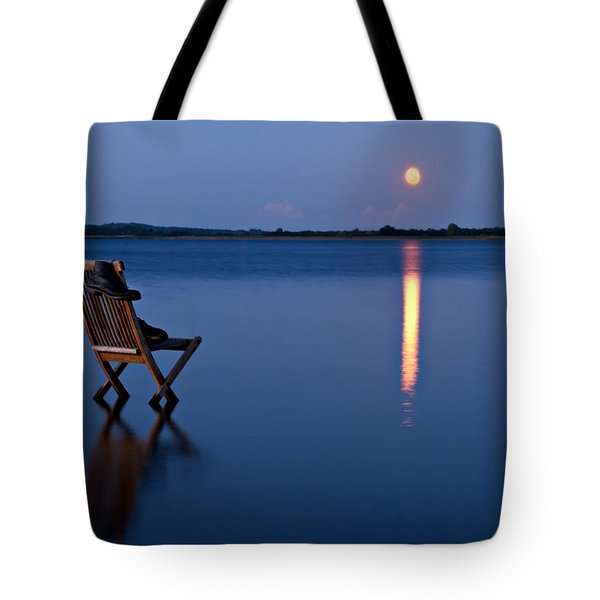 Moon Boots Tote Bag by Gert Lavsen