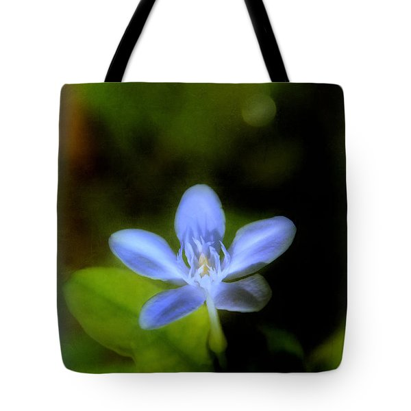 Moon Flower Tote Bag by Judi Bagwell