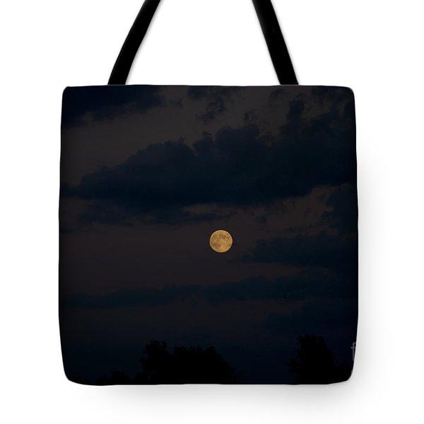 Moon Rising 06 Tote Bag by Thomas Woolworth