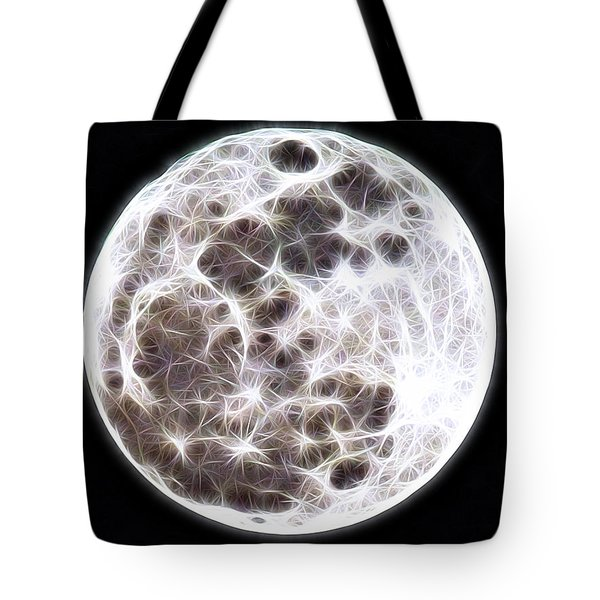 Moon Tote Bag by Stephen Younts