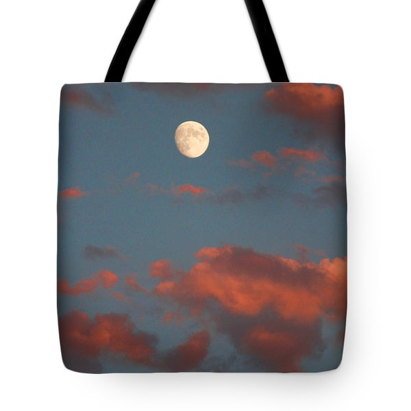 Moon Sunset Vertical Image Tote Bag by James BO  Insogna