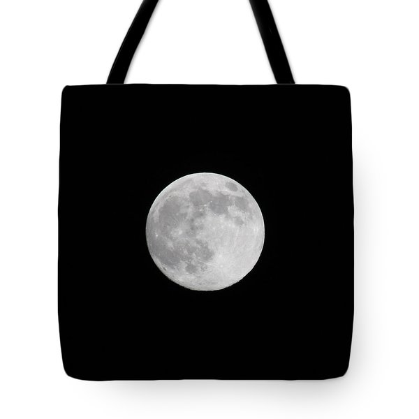 Tote Bag featuring the photograph Moon Time by Cathie Douglas