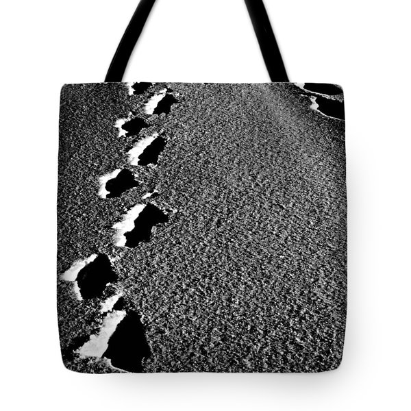 Moon Walk Tote Bag by Jerry Cordeiro