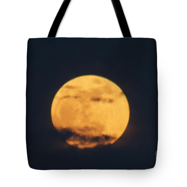 Tote Bag featuring the photograph Moon by William Norton