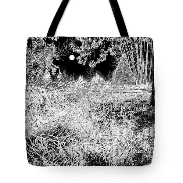 Moonlit Frost Tote Bag by Will Borden