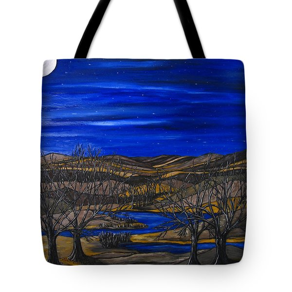 Moonlit Night Tote Bag