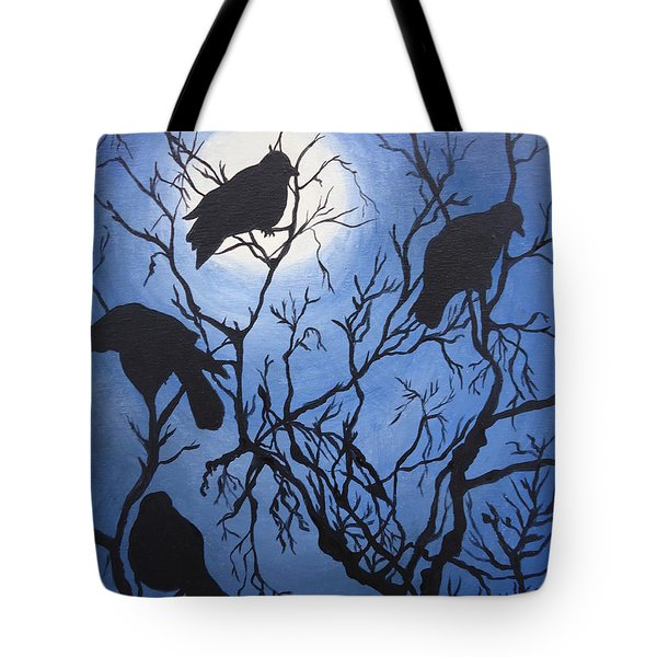 Moonlit Roost Tote Bag